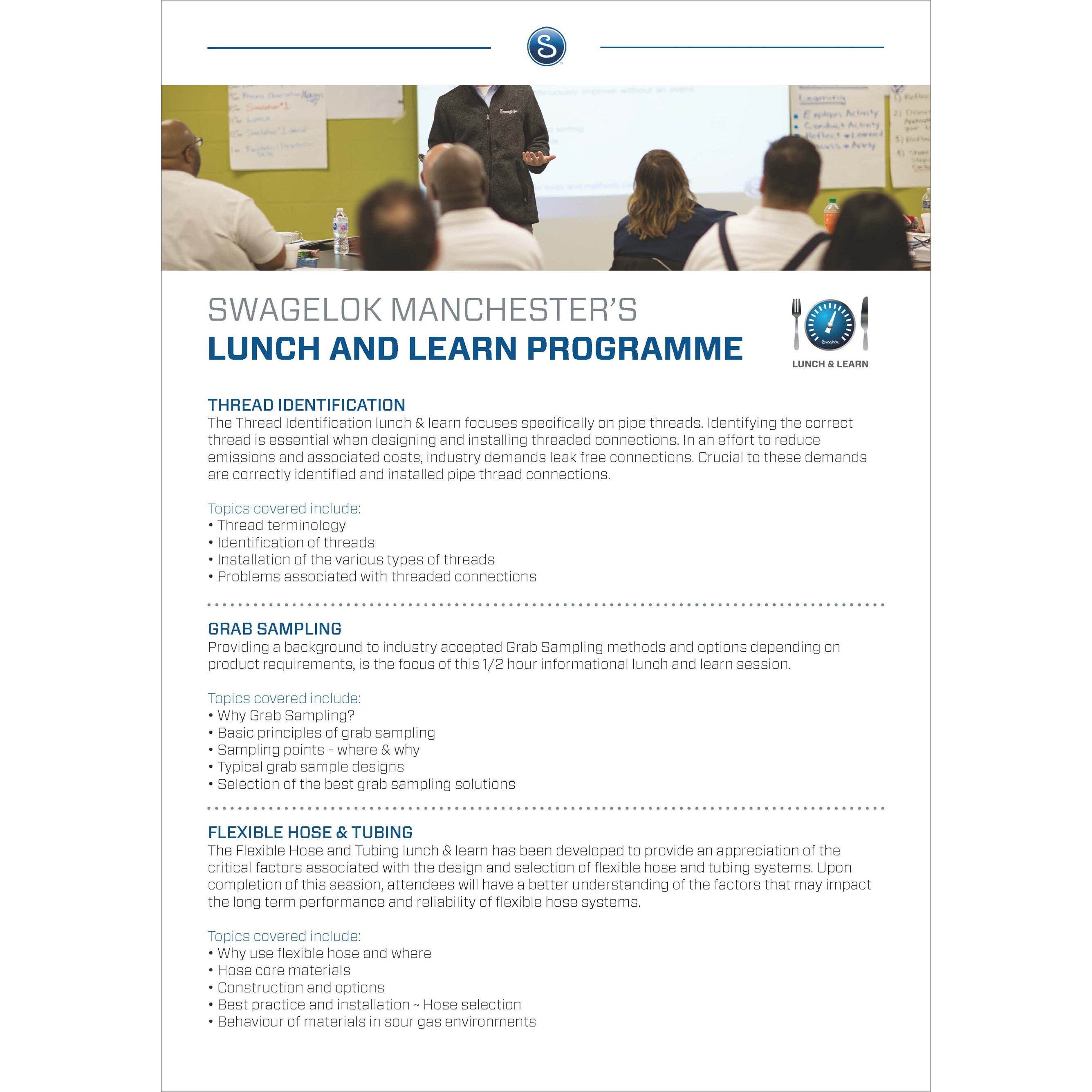 Lunch and Learn Brochure